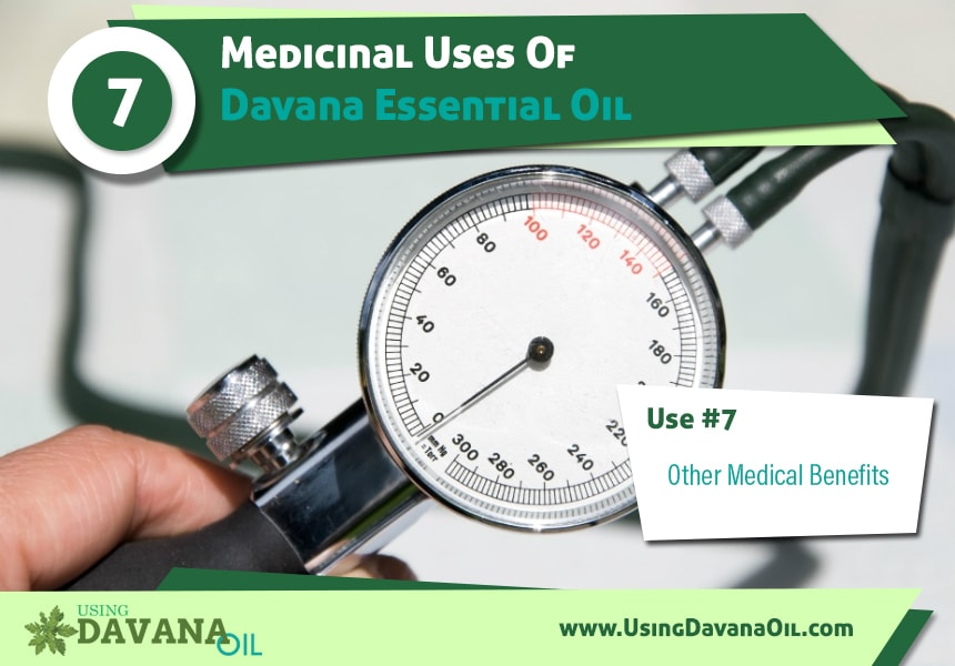 benefits of davana essential oil